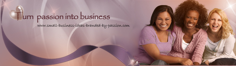 Small Biz Ideas Branded By Passion - Home